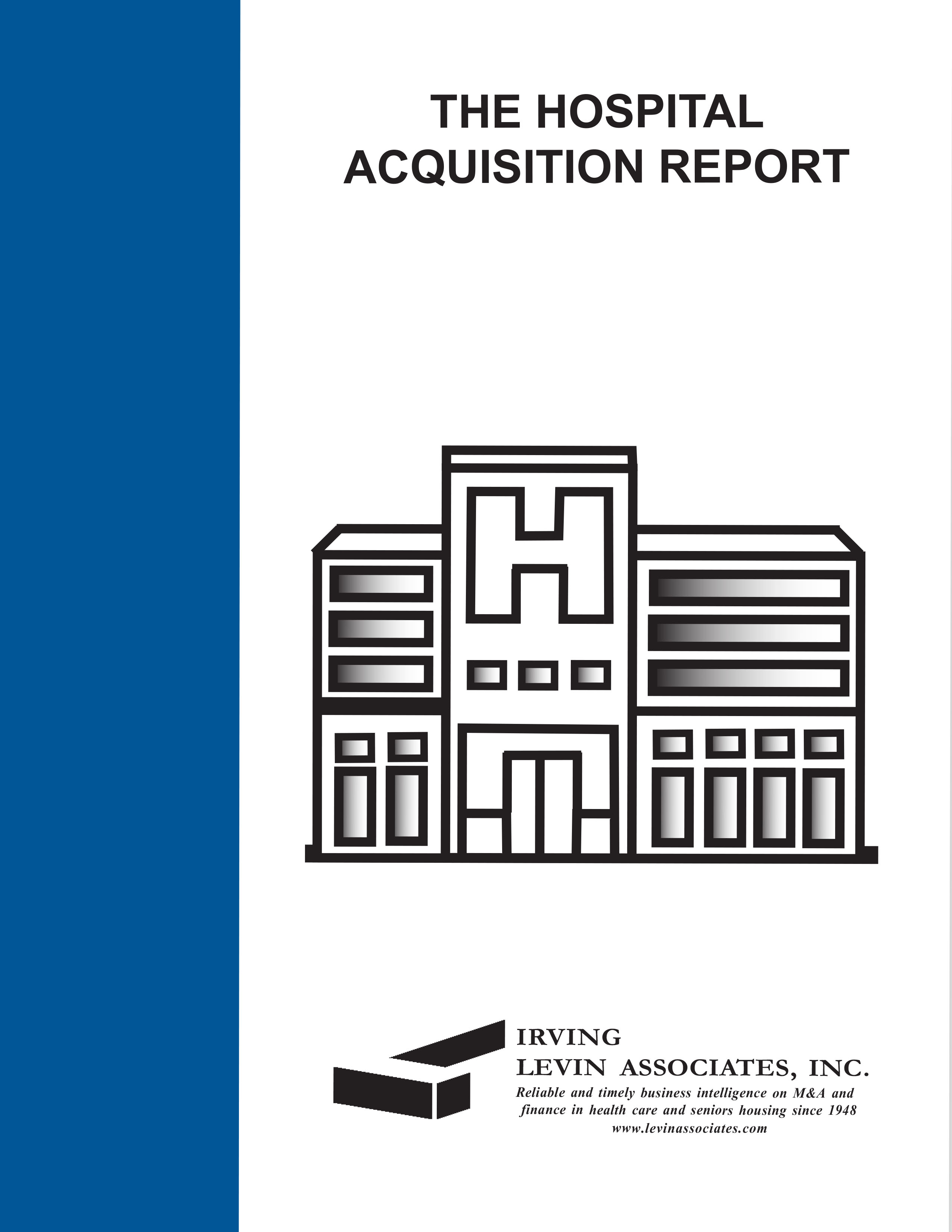 The Hospital Acquisition Report, 2014