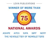 Winner of more than 75 national awards